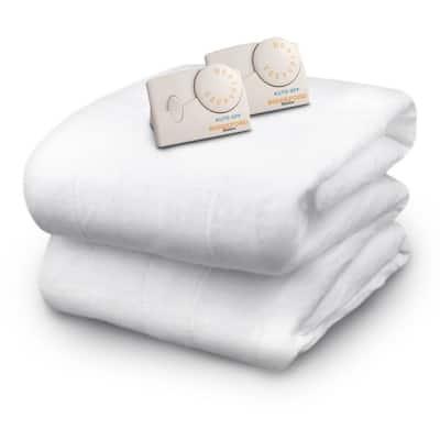 White Queen Size Mattress Pad