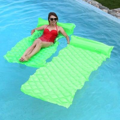 Smart Float Green Pool Float (2-Pack)