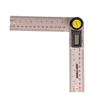 5 in. Digital Reversible Angle Finder with Angle Lock and Large LCD Readout