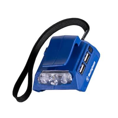 20-Volt USB Power Adapter with LED Flashlight