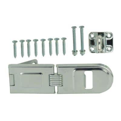 6-1/2 in. Zinc-Plated Hinge Safety Hasp