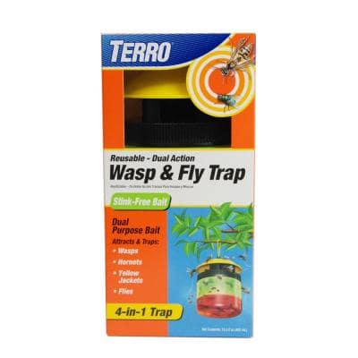Outdoor Reusable Wasp and Fly Trap