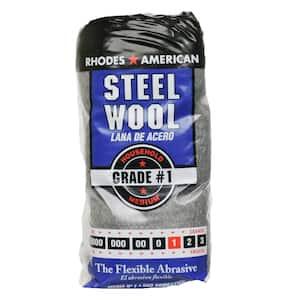 Medium Grade #1 Steel Wool (12-Pad)