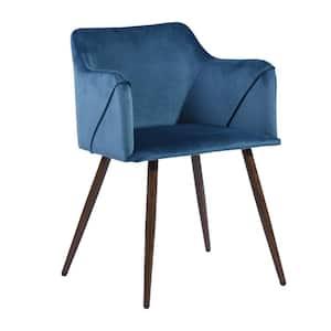 Carson Carrington Igelsjo Navy Blue Dining Room Side Chair (Set of 2)