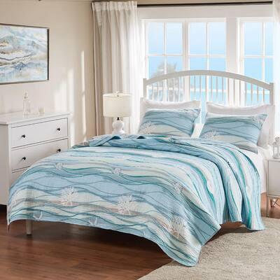 Maui Multicolo Quilt Set