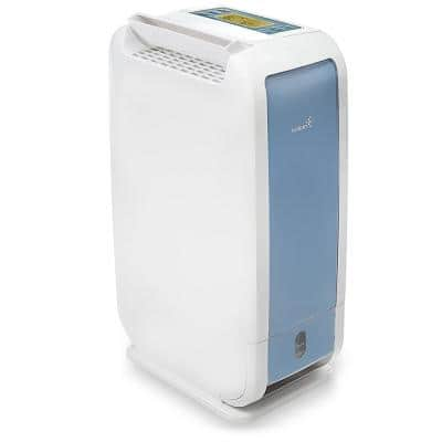 Ivation 13-Pint Desiccant Dehumidifier Compact in size and Quiet with Continuous Drain Hose for Spaces up to 270 sq. ft.
