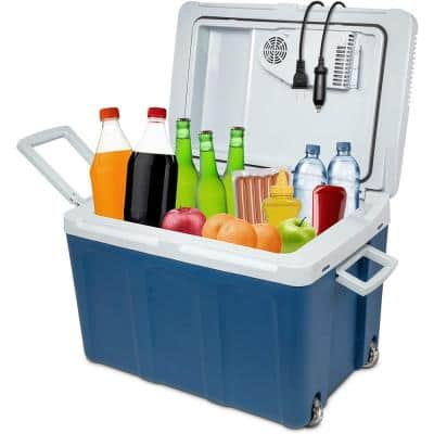 45L Portable Electric Cooler and Warmer - Great for Camping, Travel and Picnics