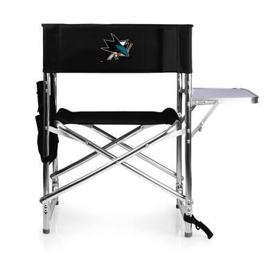 San Jose Sharks Black Sports Chair