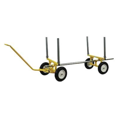 2,000 lbs. Capacity All-Terrain Lumber and Pipe Cart