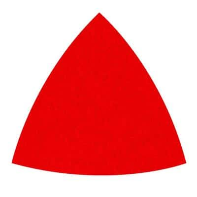 3-3/4 in. 80-Grit Coarse Oscillating Detail Triangle Sanding Sheets (10-Pack)