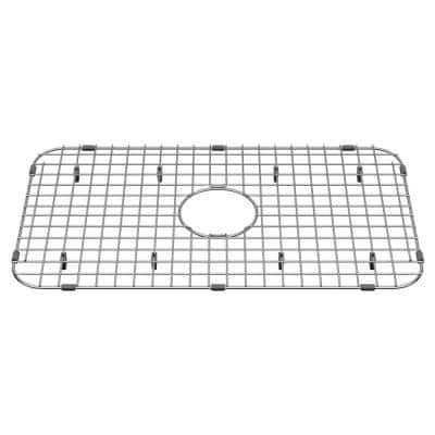 Delancey 23-13/16 in. x 13-9/16 in. Kitchen Sink Grid in Stainless Steel