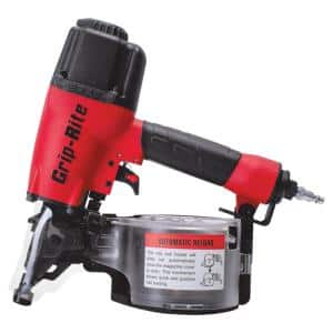 2-1/2 in. 15-Degree Wire and Plastic Collation Coil Siding Nailer