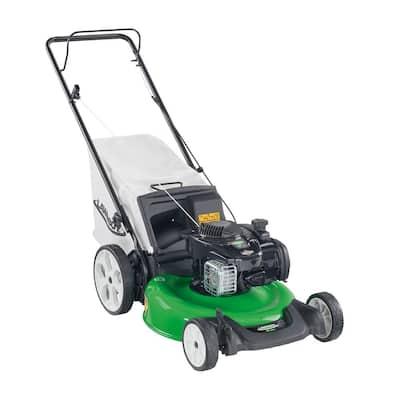 Lawn-Boy 21 in. High Wheel Gas Walk Behind Push Lawn Mower with Bagger