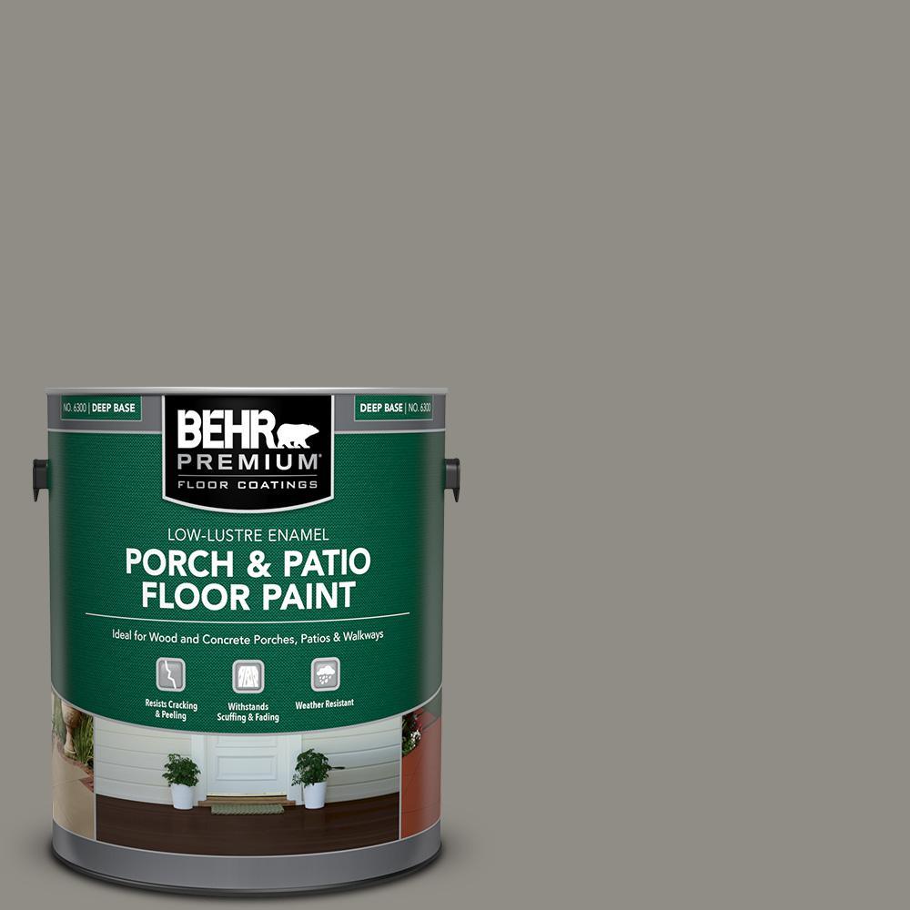 1 gal. #PFC-69 Fresh Cement Low-Lustre Enamel Interior/Exterior Porch and Patio Floor Paint
