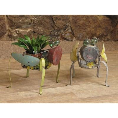 Lady Bug Planters (2-Set)