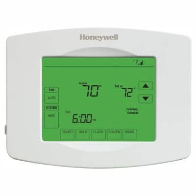 Wi-Fi 7-Day Programmable Smart Thermostat with Digital Backlit Display