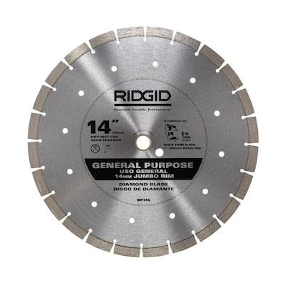 14 in. Segmented High-Rim Diamond Blade