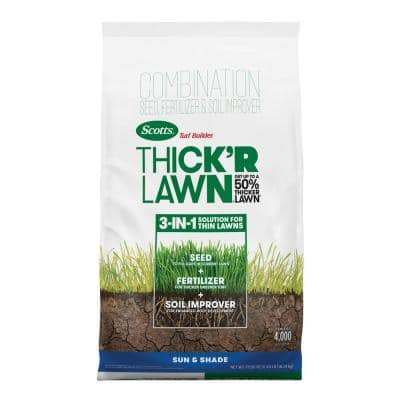 Turf Builder THICK'R LAWN Sun and Shade, 40 lb.