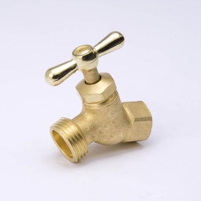 1/2-in FIP Brass Multi-Turn No Kink Hose Bibb