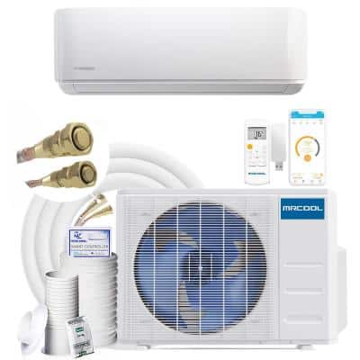 DIY Gen-3 34,400 BTU 16 SEER Smart Ductless Mini Split Air Conditioner and Heat Pump with 25 ft. Install Kit 230-Volt