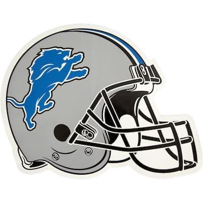 NFL Detroit Lions Outdoor Helmet Graphic- Large