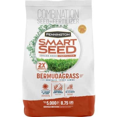 Smart Seed 8.75 lbs. Bermuda Grass Seed and Fertilizer