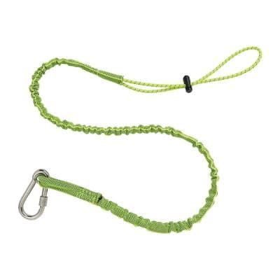 15 lbs. Lime Stainless Extended Single Carabiner Tool Lanyard