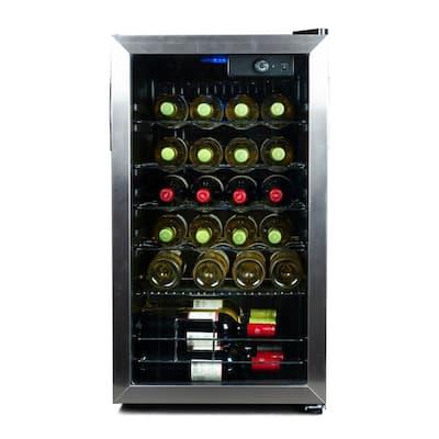 17.5 in. Wide, 26 Bottle Capacity Wine Cellar