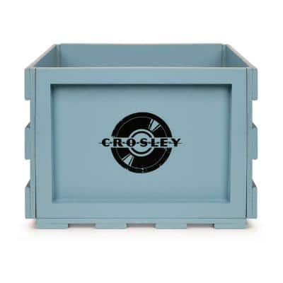 Record Storage Crate in Tourmaline