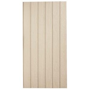 SmartSide 38 Series Cedar Texture 8 in. OC Panel Engineered Treated Wood Siding, Application as 4 ft. x 8 ft.