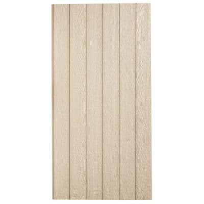 SmartSide 38 Series Cedar Texture Panel Engineered Treated Wood Siding, Application as 4 ft. x 8 ft.