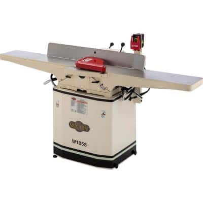 8 in. 230-Volt 3HP Dovetail Jointer with Helical Cutterhead and Mobile Base