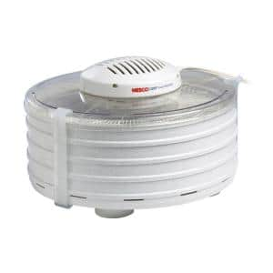 4-Tray White Expandable Food Dehydrator