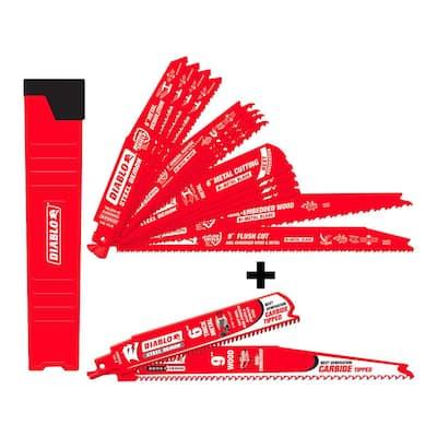20//pkg Starrett B1010P-20 Recip Blade RECIP BLADE 10 10 TPI