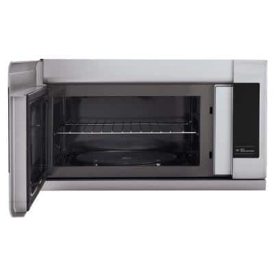 2.2 cu. ft. Over the Range Microwave in Stainless Steel with EasyClean, Sensor Cook and ExtendaVent