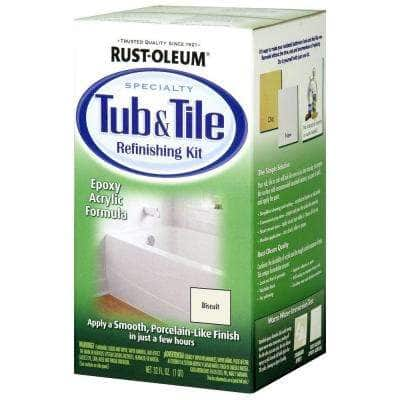 1 qt. Biscuit Tub and Tile Refinishing Kit