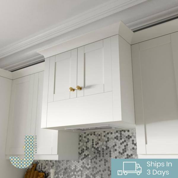 J Collection Shaker Assembled 24 In X 94 5 In X 24 In Pantry Cabinet In Vanilla White Tt50242494 5 L R Ws The Home Depot