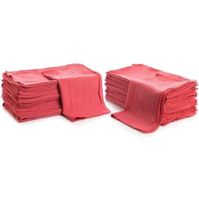 Red Shop Towels (50-Pack)