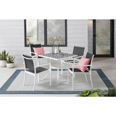 Ceramic Patio Dining Sets Patio Dining Furniture The Home Depot