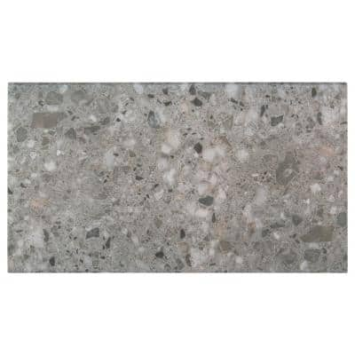 Terrazo Gris 13 in. x 24 in. x 0.75 in. Glazed Porcelain Pool Coping (26 Pieces/56.33 sq. ft./Pallet)