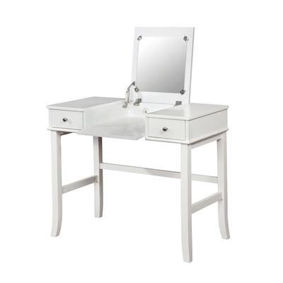 Murrella 2-Piece White Vanity Set