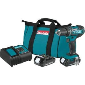 1.5 Ah 18-Volt LXT Lithium-Ion Compact Cordless 1/2 in. Driver Drill Kit