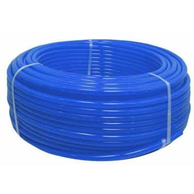 1/2 in. x 1000 ft. Blue Polyethylene Non-Barrier Potable Water PEX Pipe and Tubing