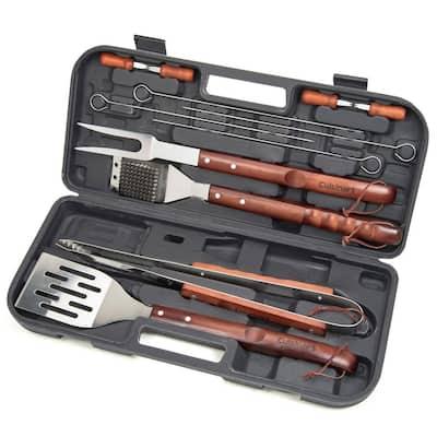 13-Piece Wooden Handle Tool Set
