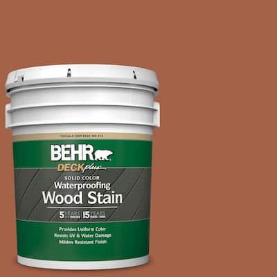 5 gal. #SC-136 Royal Hayden Solid Color Waterproofing Exterior Wood Stain