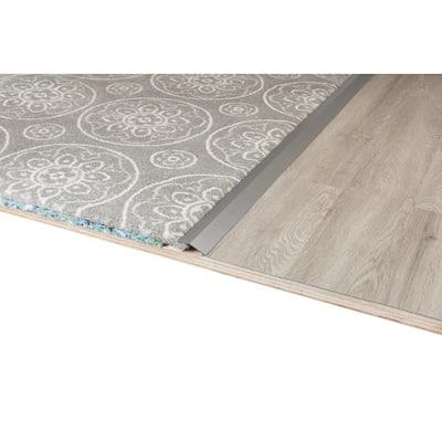 Traffic Master 2 in. x 36 in. Carpet Trim Transition Strip Warm Gray