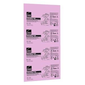 FOAMULAR 1/2 in. x 4 ft. x 8 ft. R-3 Square Edge Rigid Foam Board Insulation Sheathing