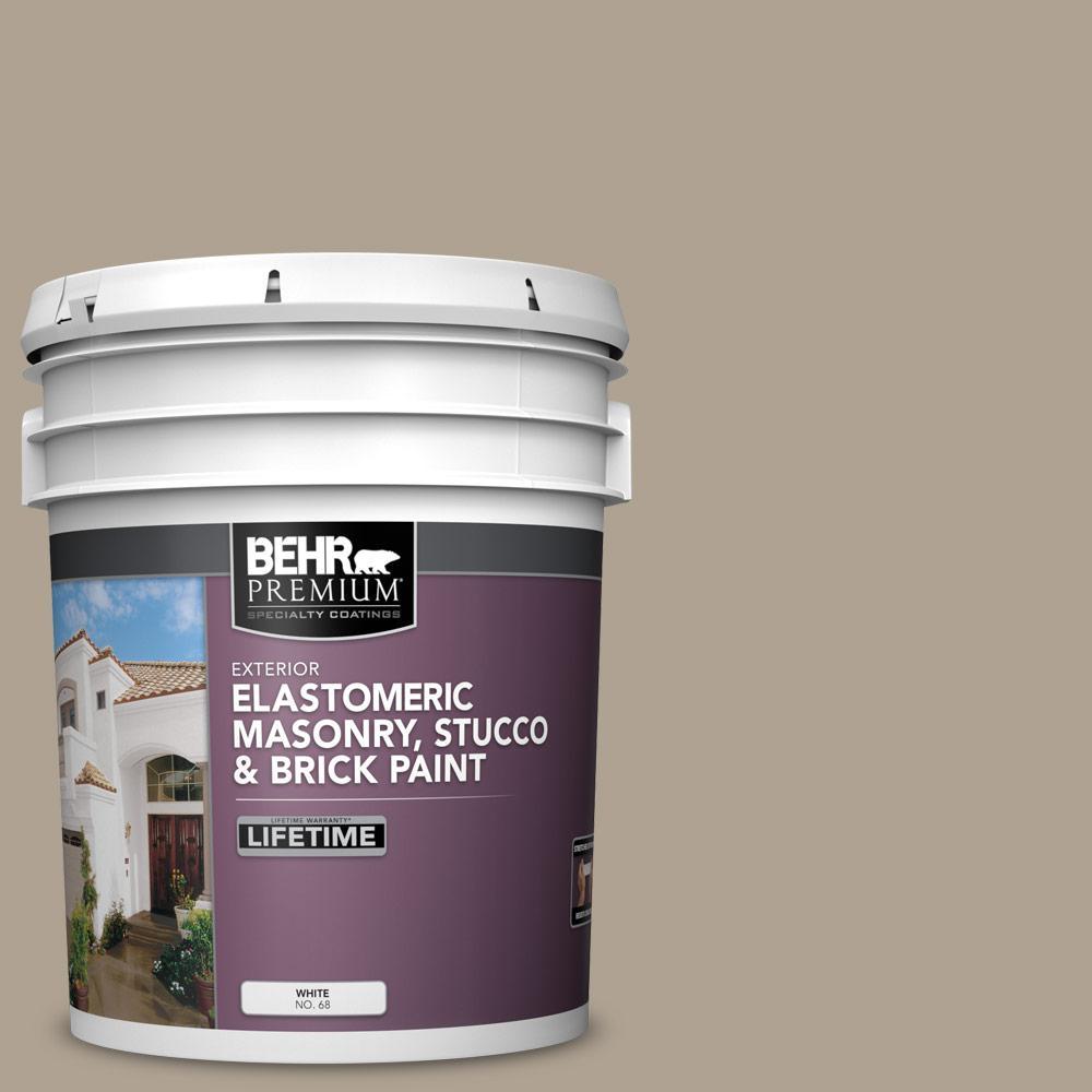 5 gal. #730D-4 Garden Wall Elastomeric Masonry, Stucco and Brick Exterior Paint