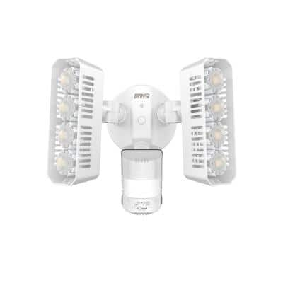LED Security Light 36-Watt 180 Degree White Motion Sensor Dusk to Dawn Outdoor Waterproof Flood 3600lm 5000K Daylight
