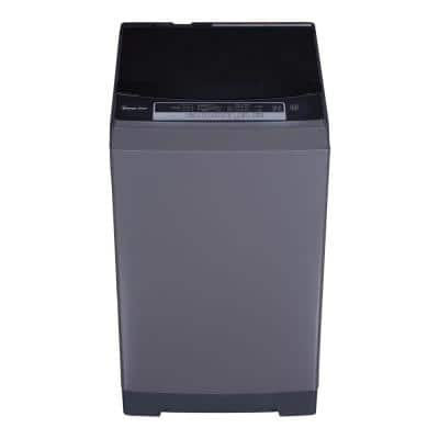1.6 cu. ft. Portable, Compact Top Load Washer in Silver